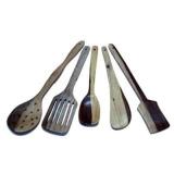 AAA Wooden Kitchen Tool Set 5 Pieces