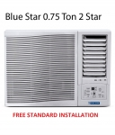Blue Star 0.75 Ton  Window Air Conditioner Free Standard Installation