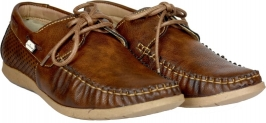 Brandvilla Lace Up For Men  (Brown)