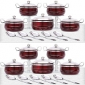 Buy 10 Pc Serve Ware Set and Get 10 Pc Serve Ware Set FREE By Everwel