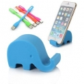 Elephant Smartphone Stand and Led Light (Various Colors)
