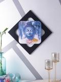 Blue Buddha Print Wall Art