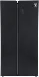 Panasonic 584 L Frost Free Side by Side Refrigerator  (Black Glass Door, NR-BS60GKX1)