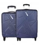 Safari Traffik Anti Scratch Luggage Trolley Bag (Combo Set of 2)