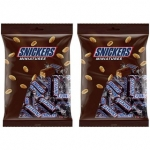 Snickers Miniatures 150 g (Pack of 2)