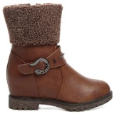Ten Women's Leather Boots (Brown)